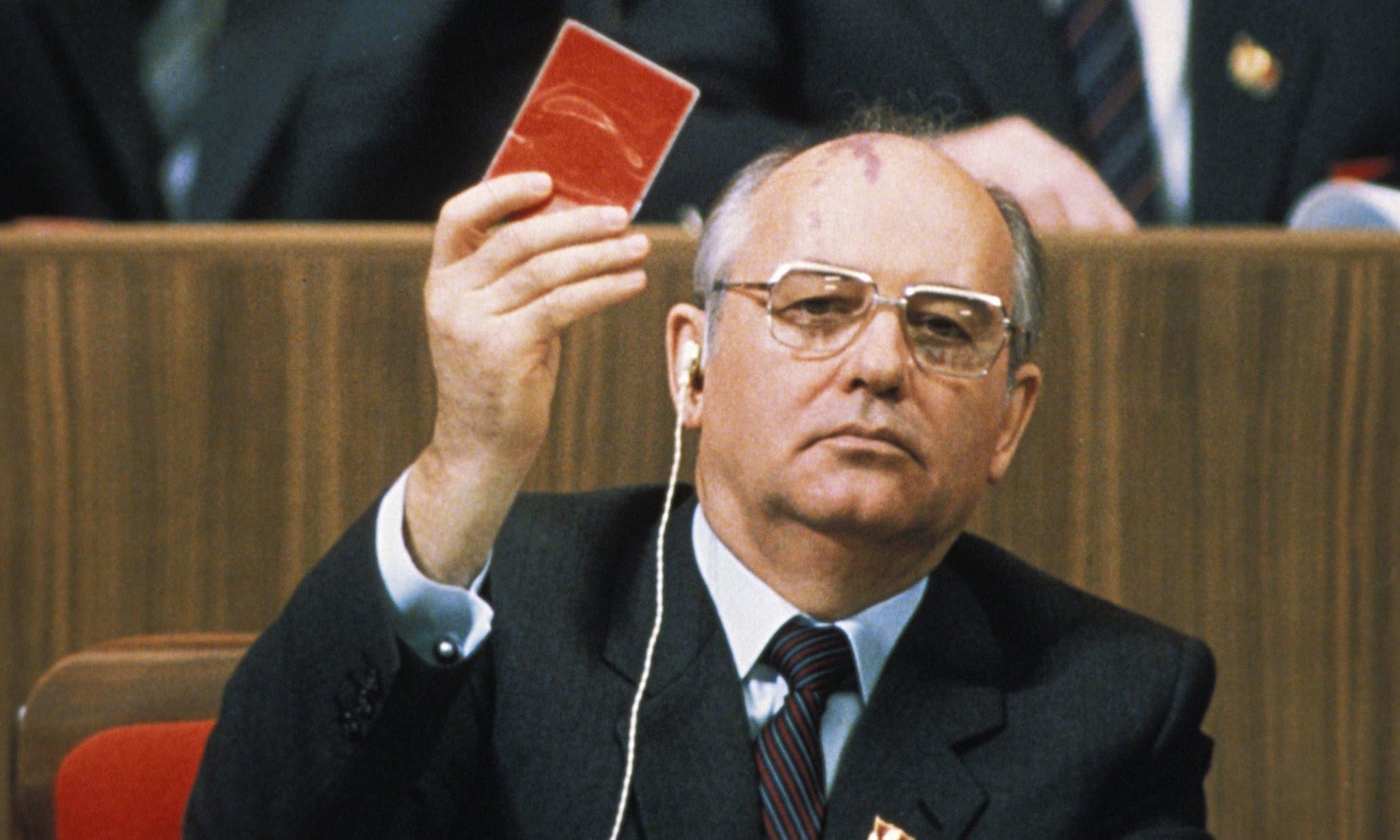 1991 Михаил Горбачев СССР