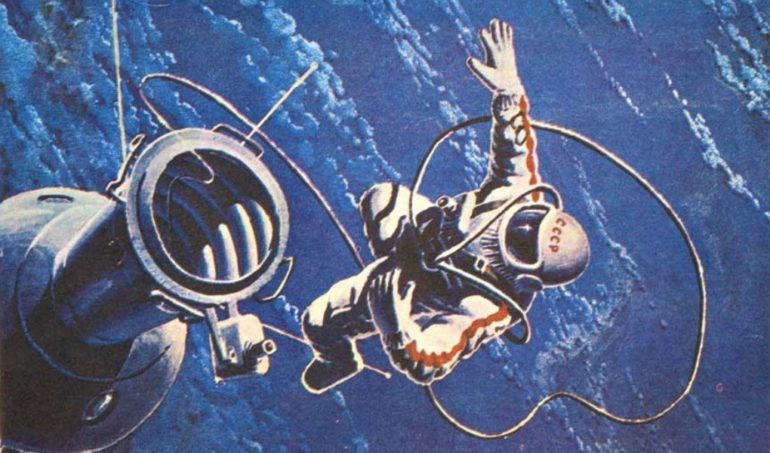 А. Леонов: «Назвался космонавтом — вылезай в космос» (1 фото)