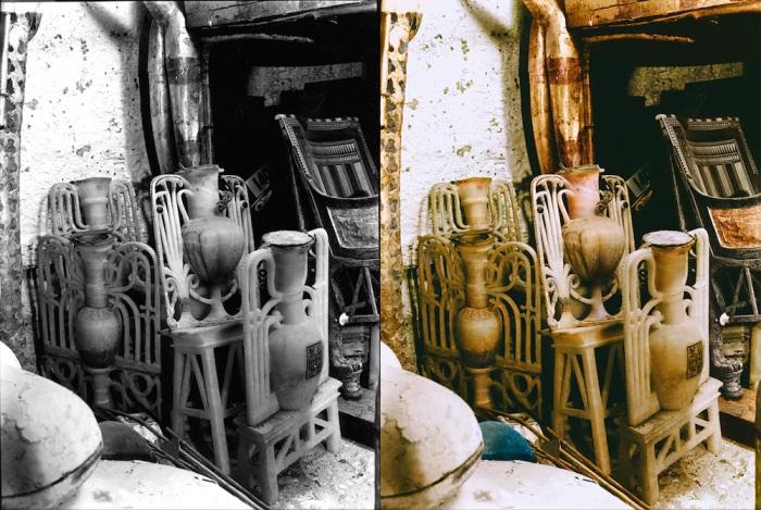 археология Говард Картер Тутанхамон фараон фотографии