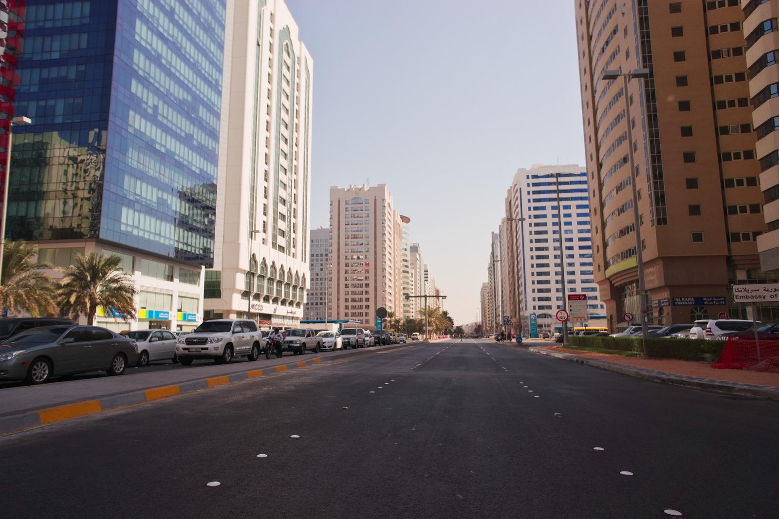 Столица ОАЭ, не парадные виды