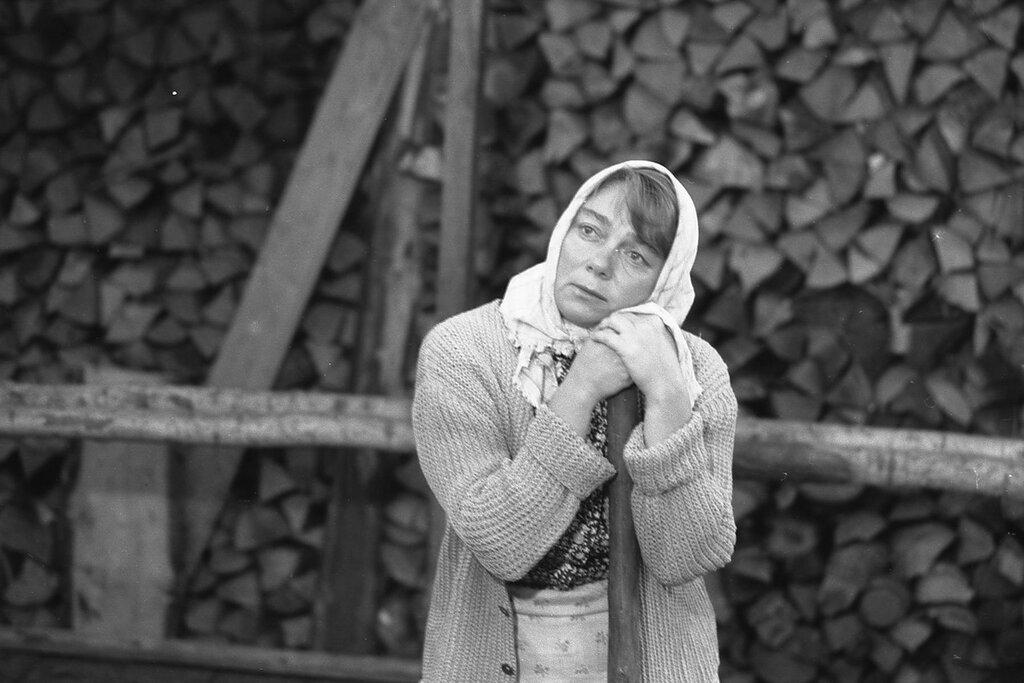 """Нина Дорошина. """"Любовь и голуби"""", 1984 год.  Фото Александра Карельского."""