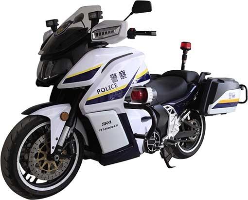 Полицейский электроцикл Jinyi JY2400DJ-X (Китай)