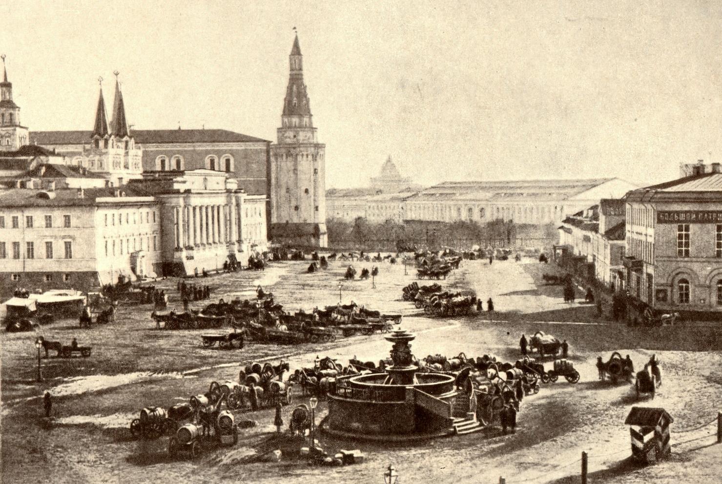 Воскресенская площадь. 1870