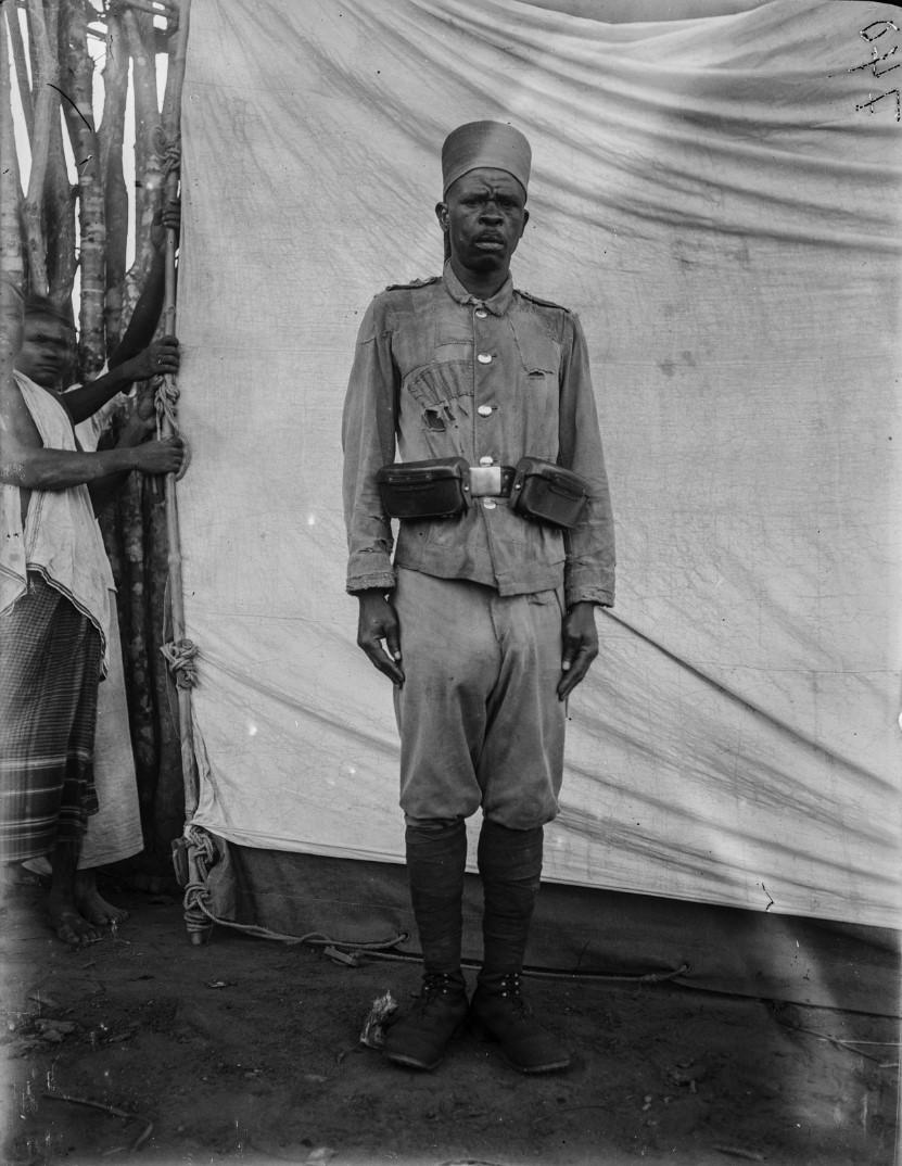 69. Портрет солдата германских колониальных войск