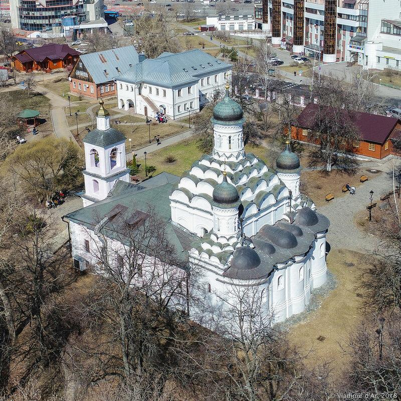 Храм Живоначальной Троицы в Хорошёве