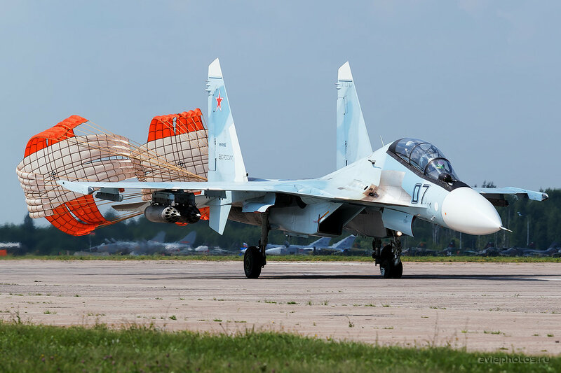 Сухой Су-30СМ (RF-91902 / 07 черный) ВКС России 0270_D805615