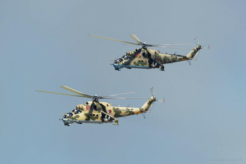 Миль Ми-24П (RF-93545 / 09 красный) ВКС России 1210_D806426a