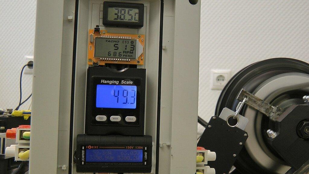 Испытания нового Cyclone 3000W на стенде. Тюнинг и апгрейд мотора.