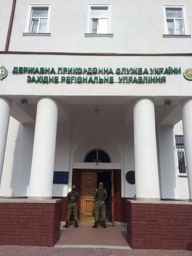В здании Госпогранслужбы проходят обыски по делу о незаконной рубке леса, - Слободян (обновлено)