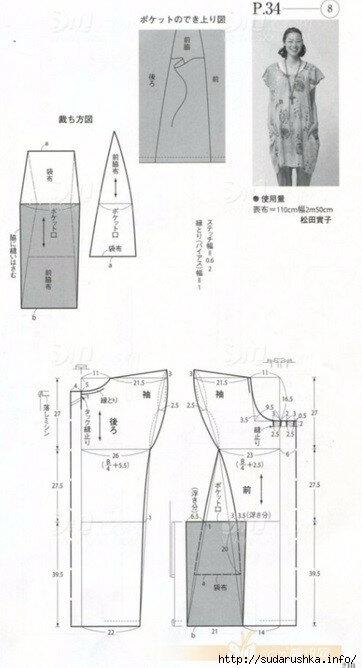 061fa72cbed1 Выкройки, схемы для бохо стиля. Сводная подборка. Наиболее ч ...