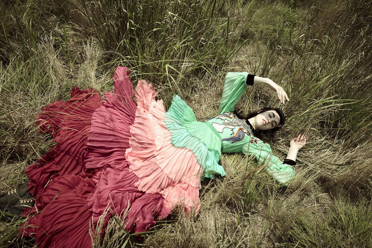 Wild Art - Vogue Ukraine August 2016