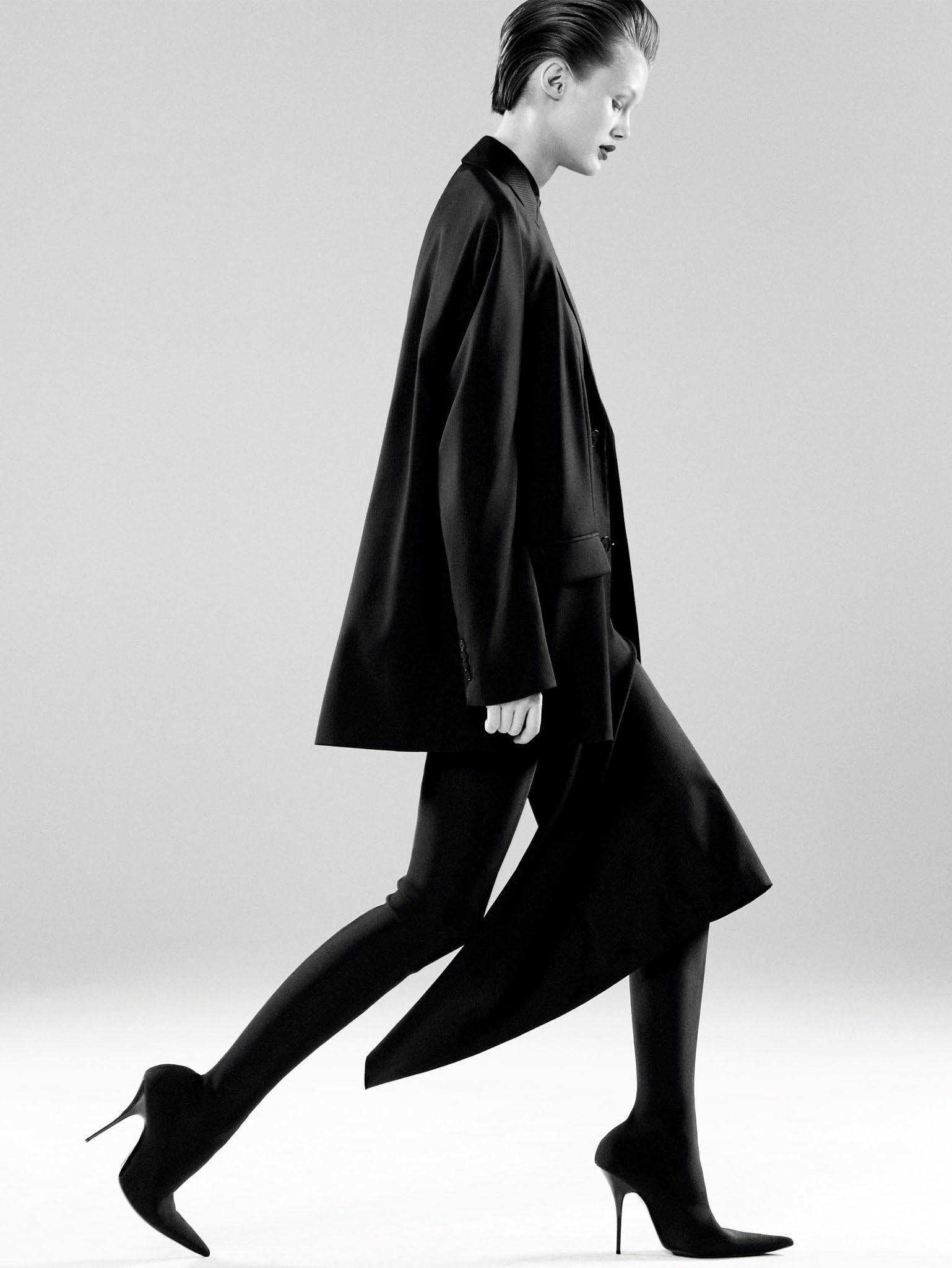 Кристина Грикайте в фотосъёмке Дэниела Джексона для китайского Vogue, май 2017 4