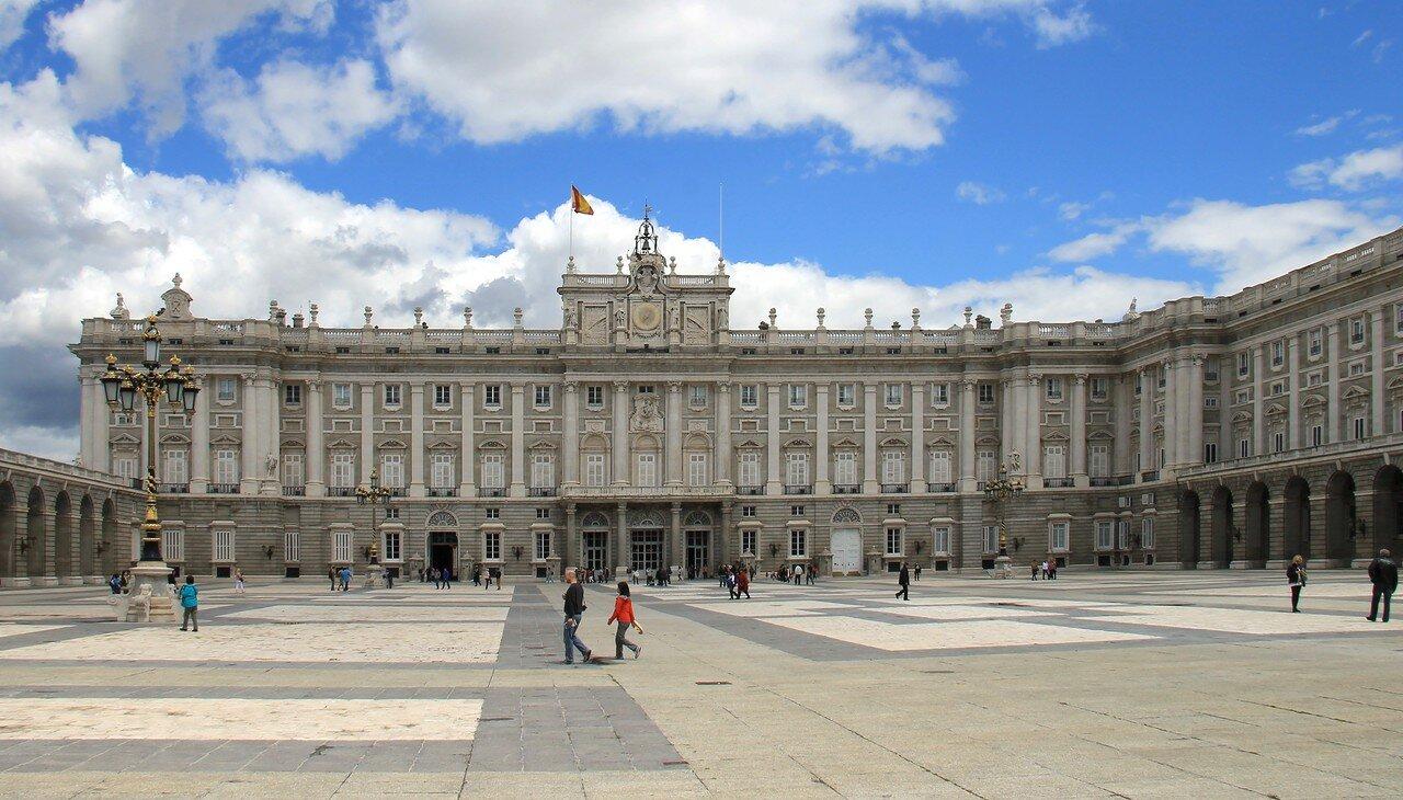 Madrid. The Royal Palace (Palacio Real). The Armoury courtyard