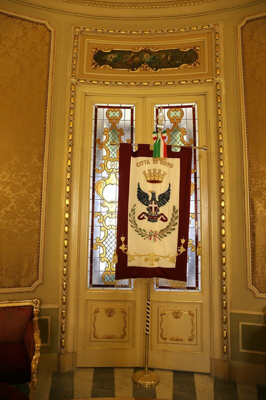 Palazzo Ducezio, Noto. Interiors