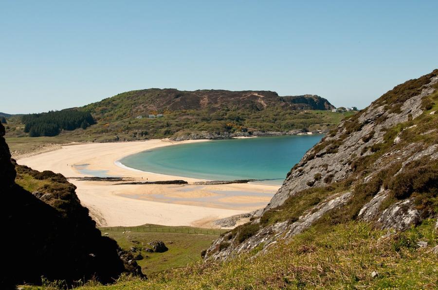 4. Колонсей (Шотландия) Если вы ищите мир и спокойствие, остров Колонсей в архипелаге Внутренние Геб