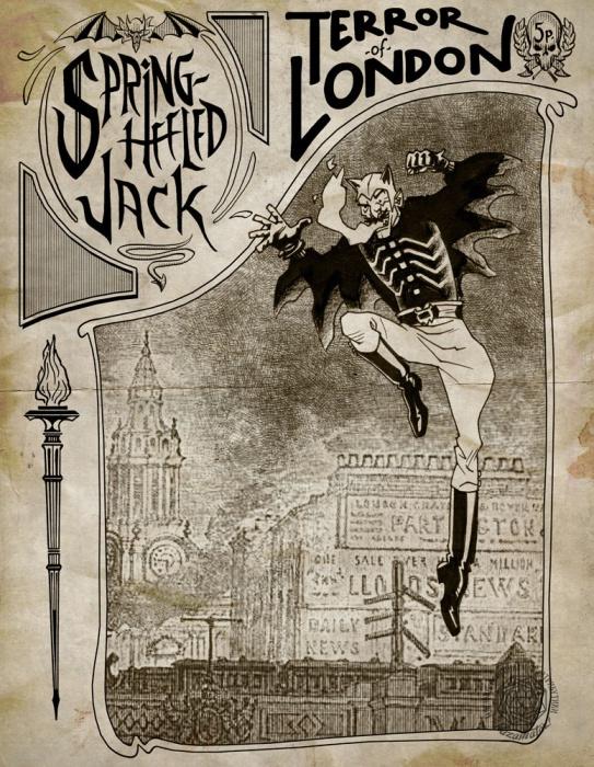 Впервые Джек проявил себя в 1837 году, в первый год правления королевы Виктории. Жители окраин Л