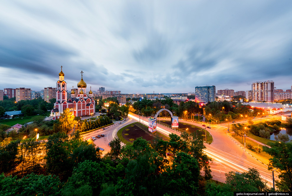 3. На въезде в Одинцово установлена арка «Старая Смоленская дорога». Именно здесь была проложен