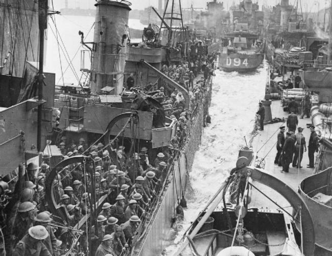 © wikimedia.org  Эпизод вДюнкерке — одно иззначимых событий Второй мировой войны. Британски