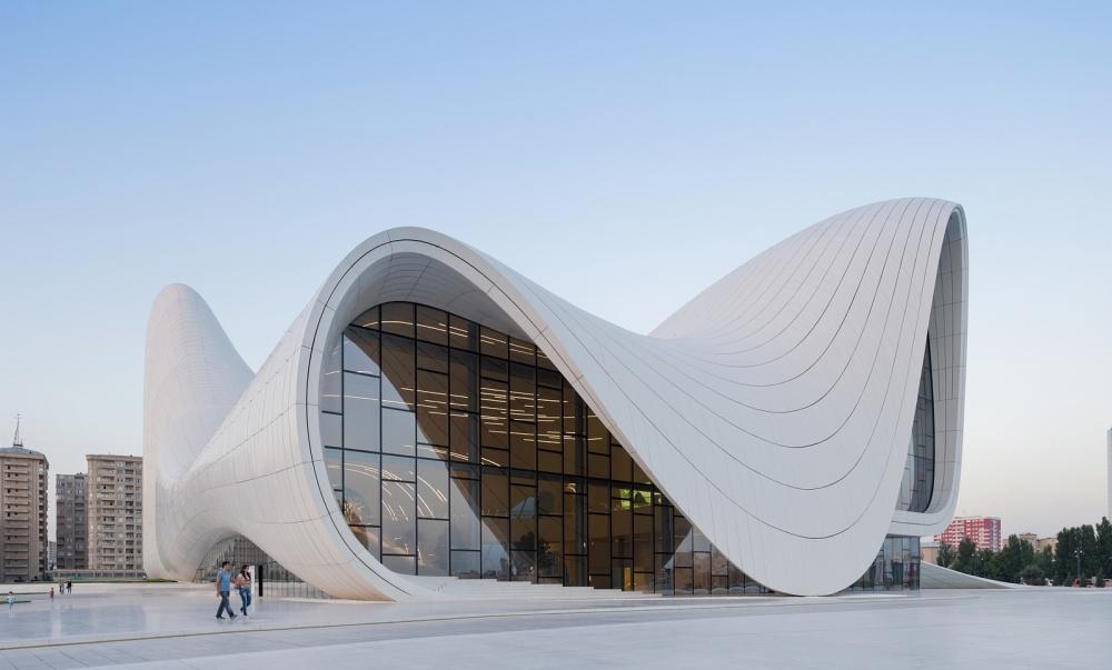Космическая архитектура Захи Хадид (27 фото)