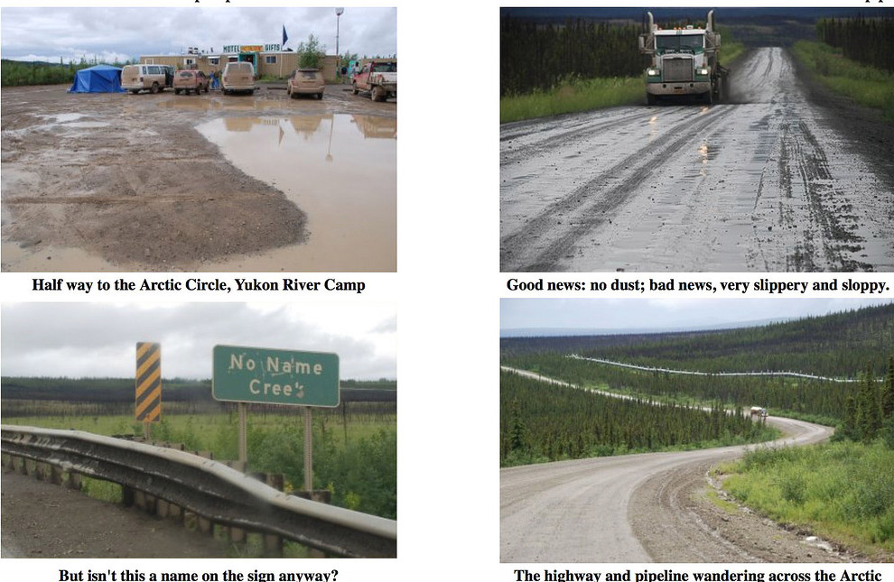 Честно говоря, у нас тоже грязи хватает по дорогам на Колыме. И на стоянках тоже. А больше пыли