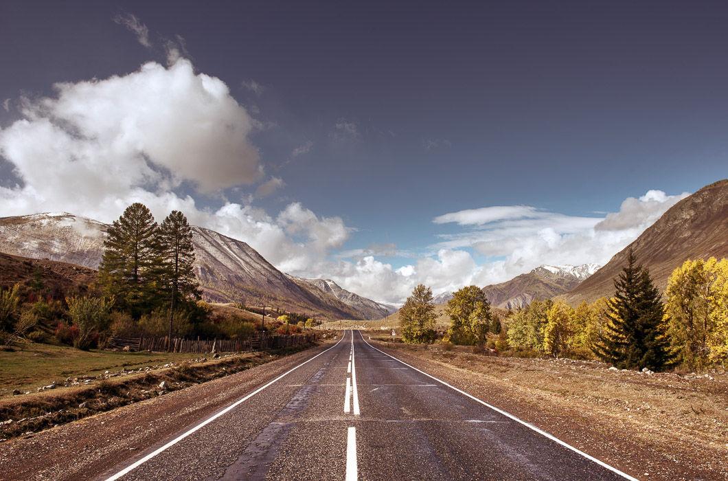 Самые красивые дороги России