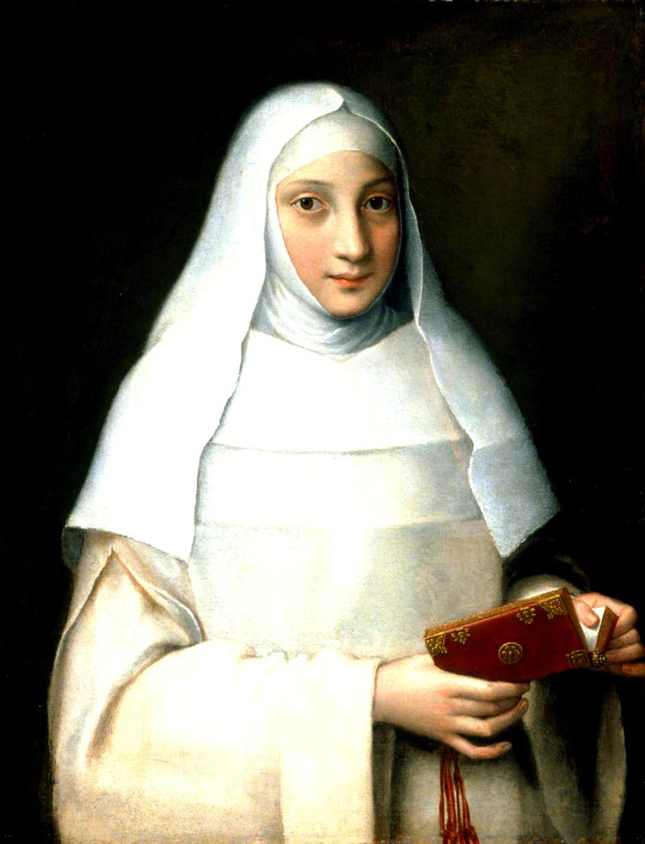 "The Artist""s Sister in the Garb of a Nun"