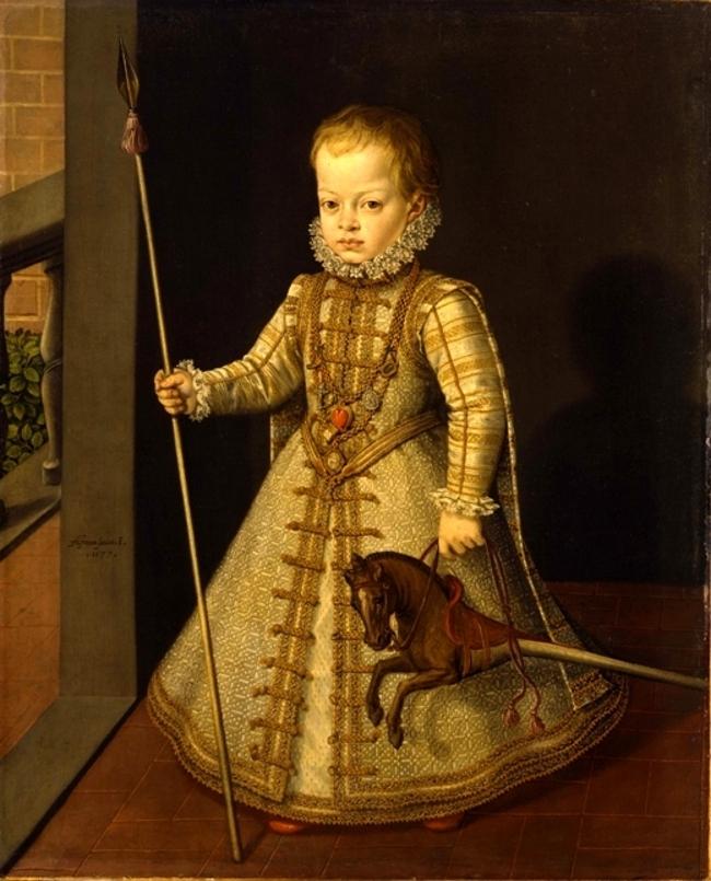 Don Diego, prince des Asturies, par Sanchez Coello