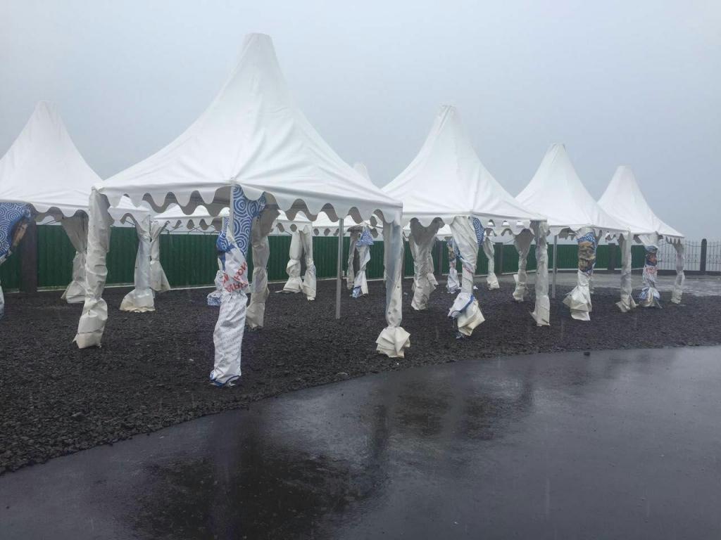 Тайфун движется наСахалин иКурилы
