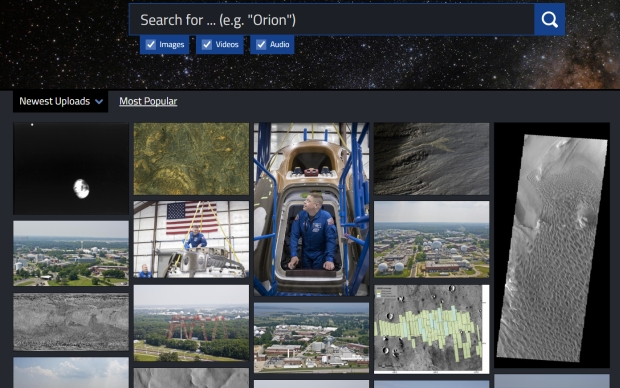 NASA открывает космический архив для всех желающих