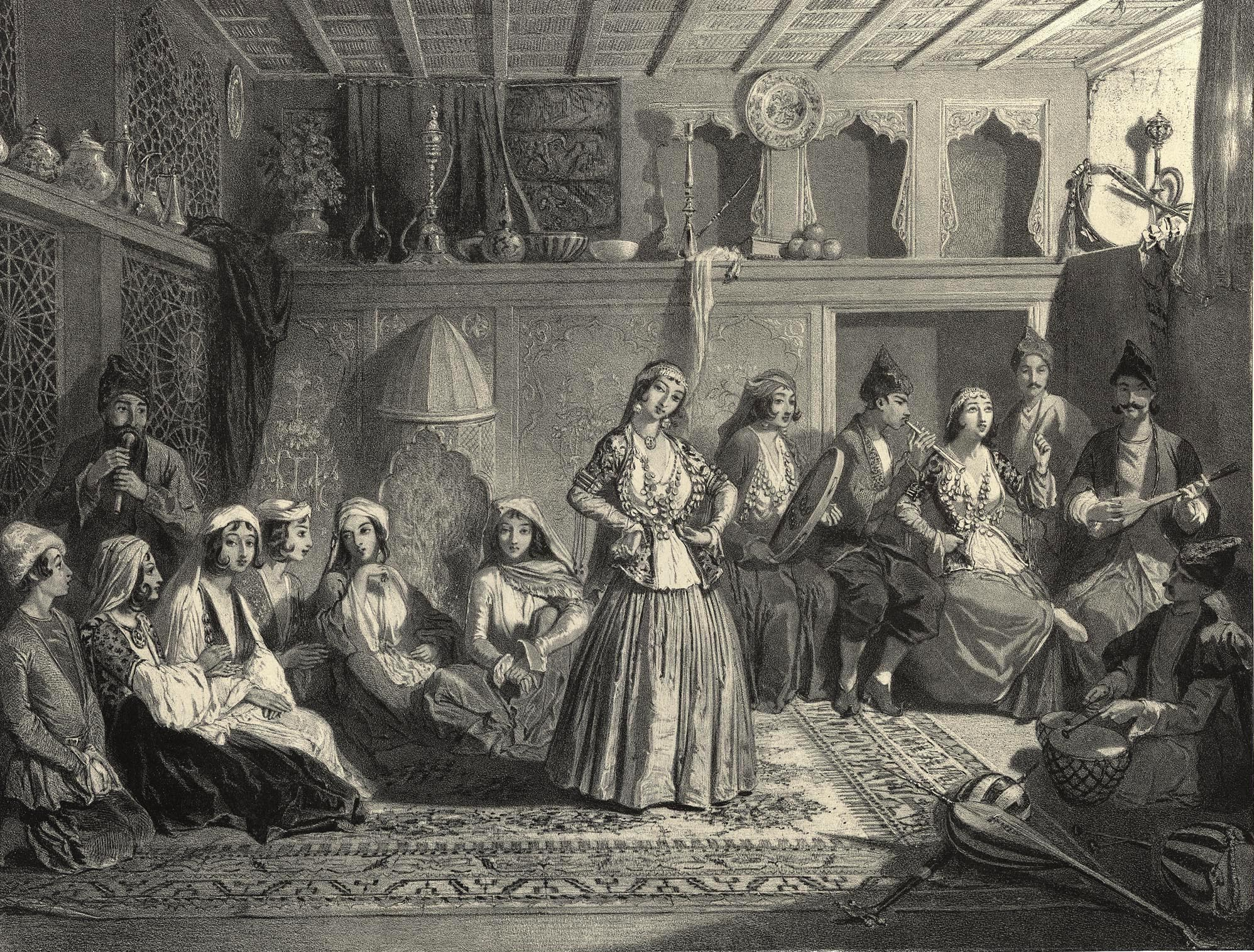 41. Chirvan. Bayaderes de Chemakha / Ширван. Баядерки из Шамахы
