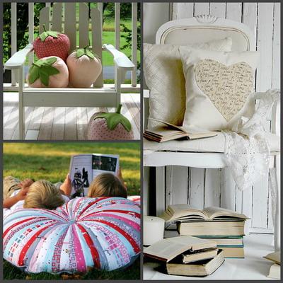 чем набить маленькие подушки