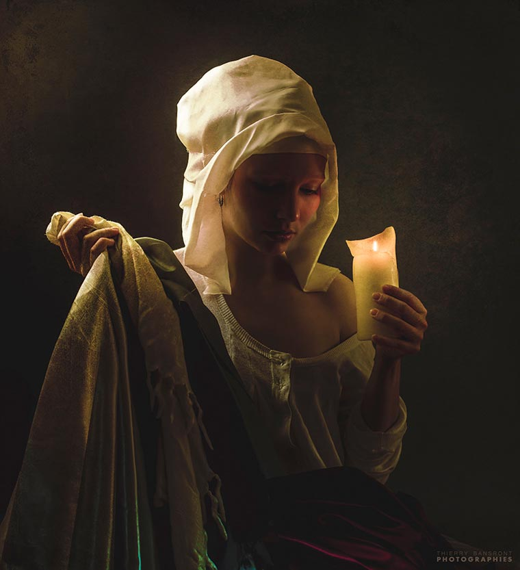 Neoclassical - Captivating portraits inspired by classical painting