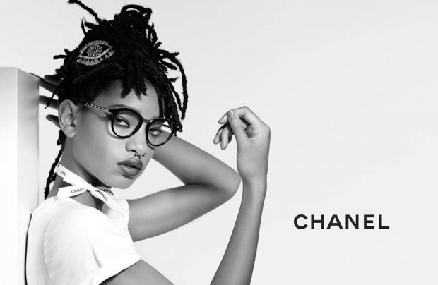 Chanel Eyewear Fall Winter 2016.17 Campaign featuring Willow Smith (5 pics)