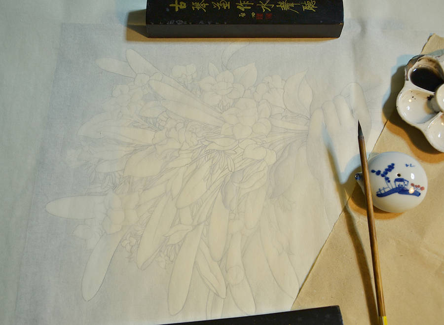 Meticulous & Sweet Watercolors on Rice Paper