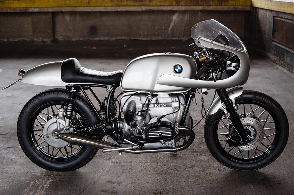 Пол Треммель: кафе рейсер BMW R100RS