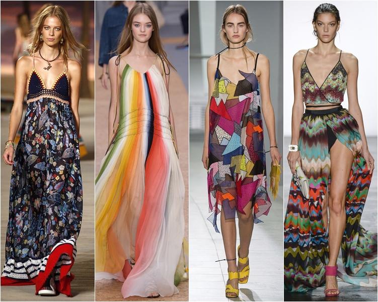 модный фасон платья 2016: летние сарафаны