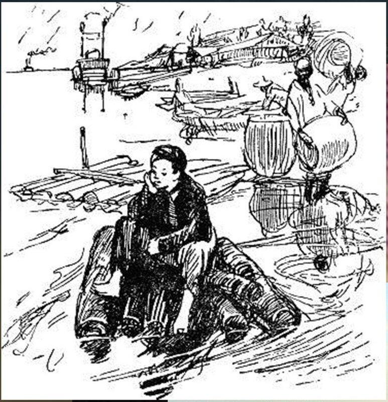 Иллюстрация В. Н. Горяева к пр-ю М.Твена Приключения Тома Сойера (8).jpg