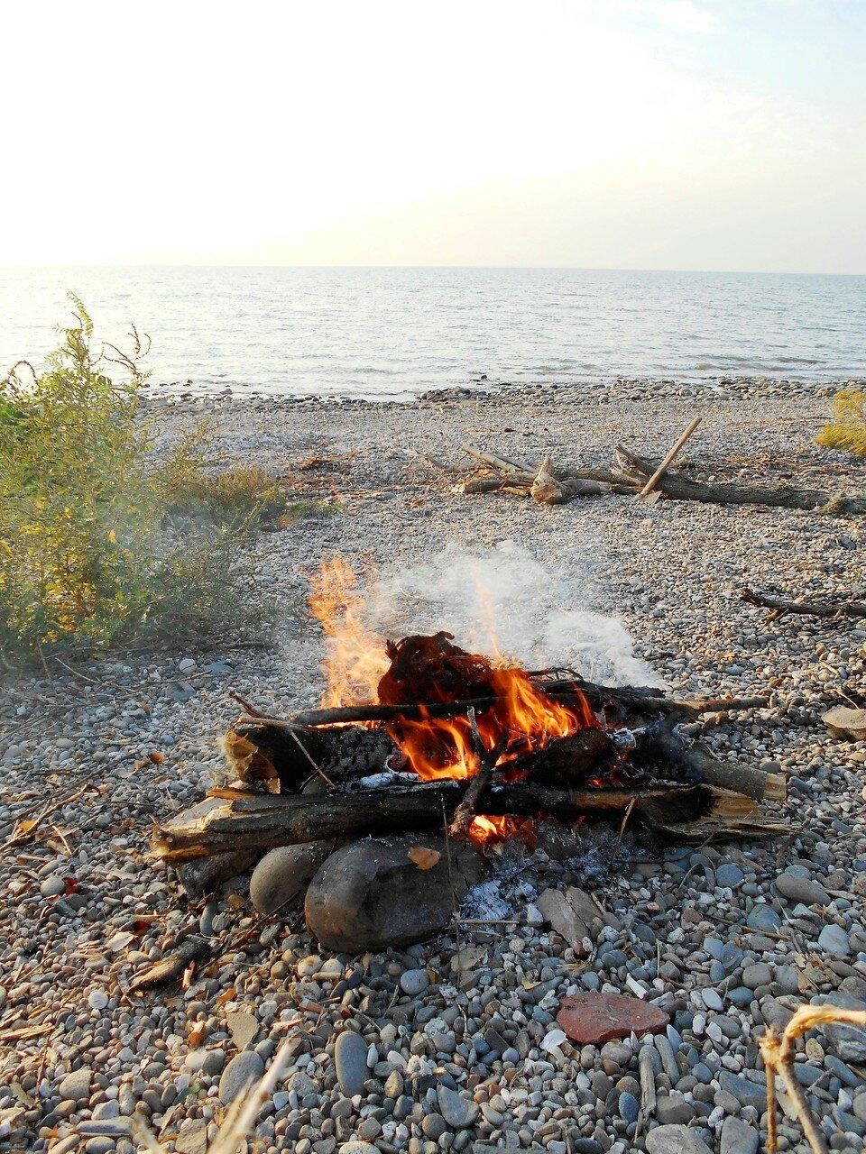 На берегу, в сентябре ... DSCN1297.JPG