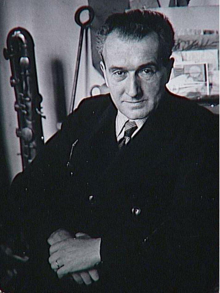 1960-е. Портрет водителя Марселя
