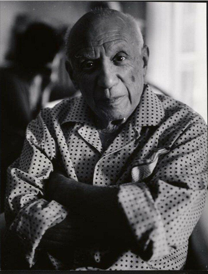 1966. Пикассо в Мужене, Нотр-Дам-де-Ви