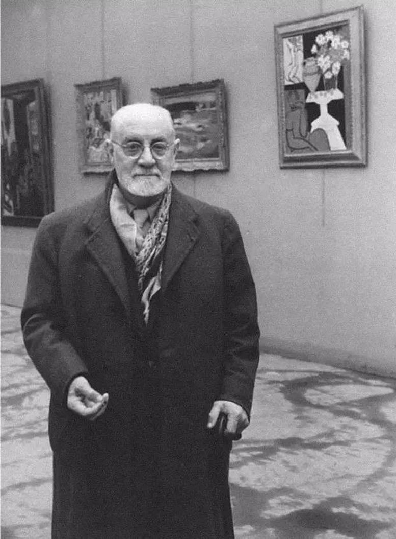 1945. Матисс в Осеннем салоне, Париж