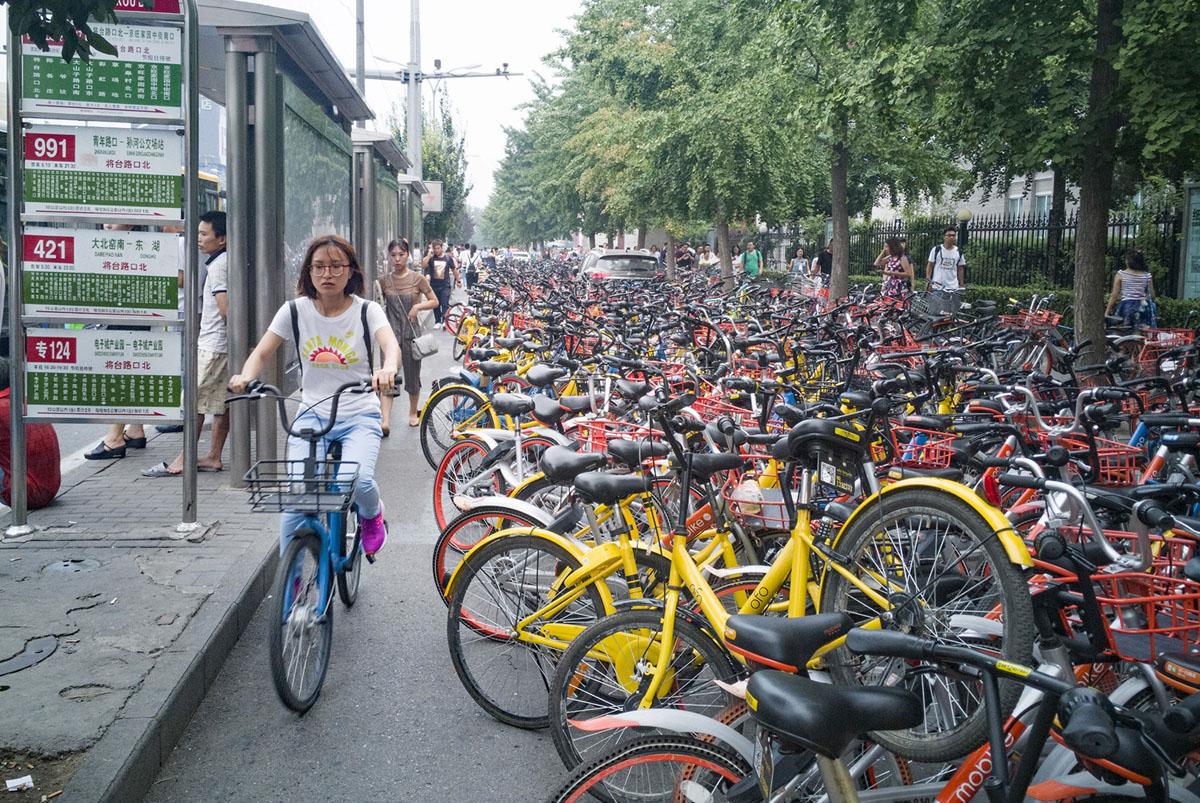 Китай и велосипеды
