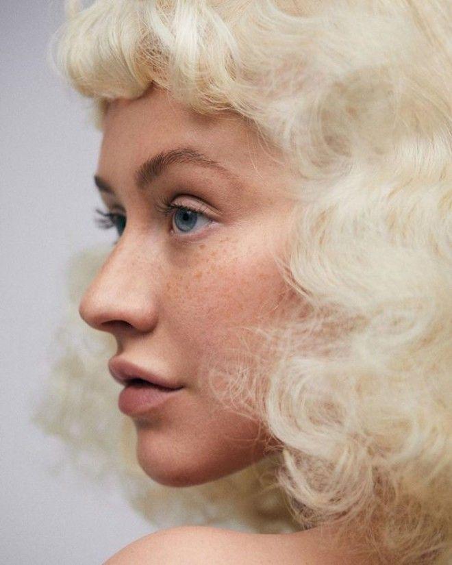 Кристина Агилера без макияжа: такой вы её никогда до этого не видели