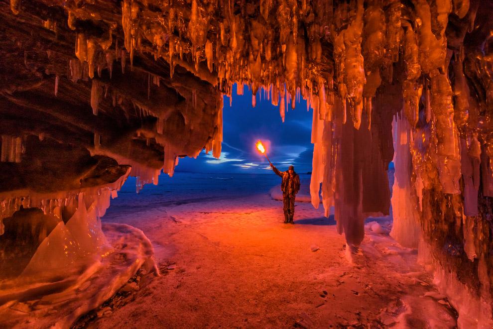 HD Байкал лед острова