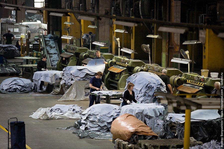 кожа производство Россия