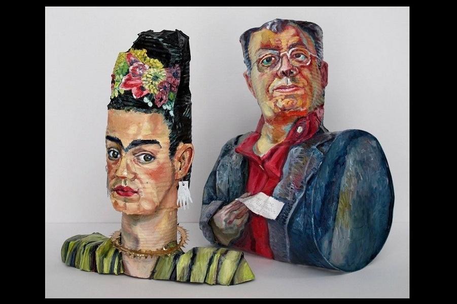 Оловянные «головы» или знаменитые исторические портреты художников?