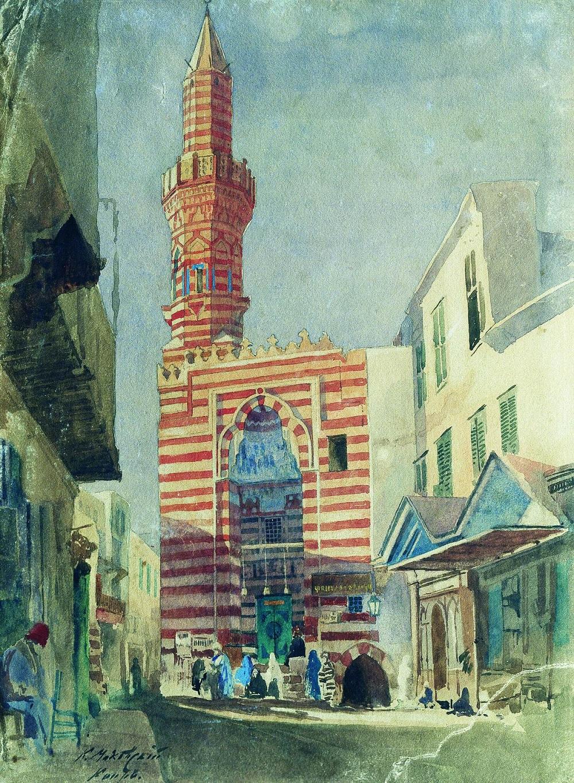 Каир. Около 1867 Днепропетровский художественный музей, Украина