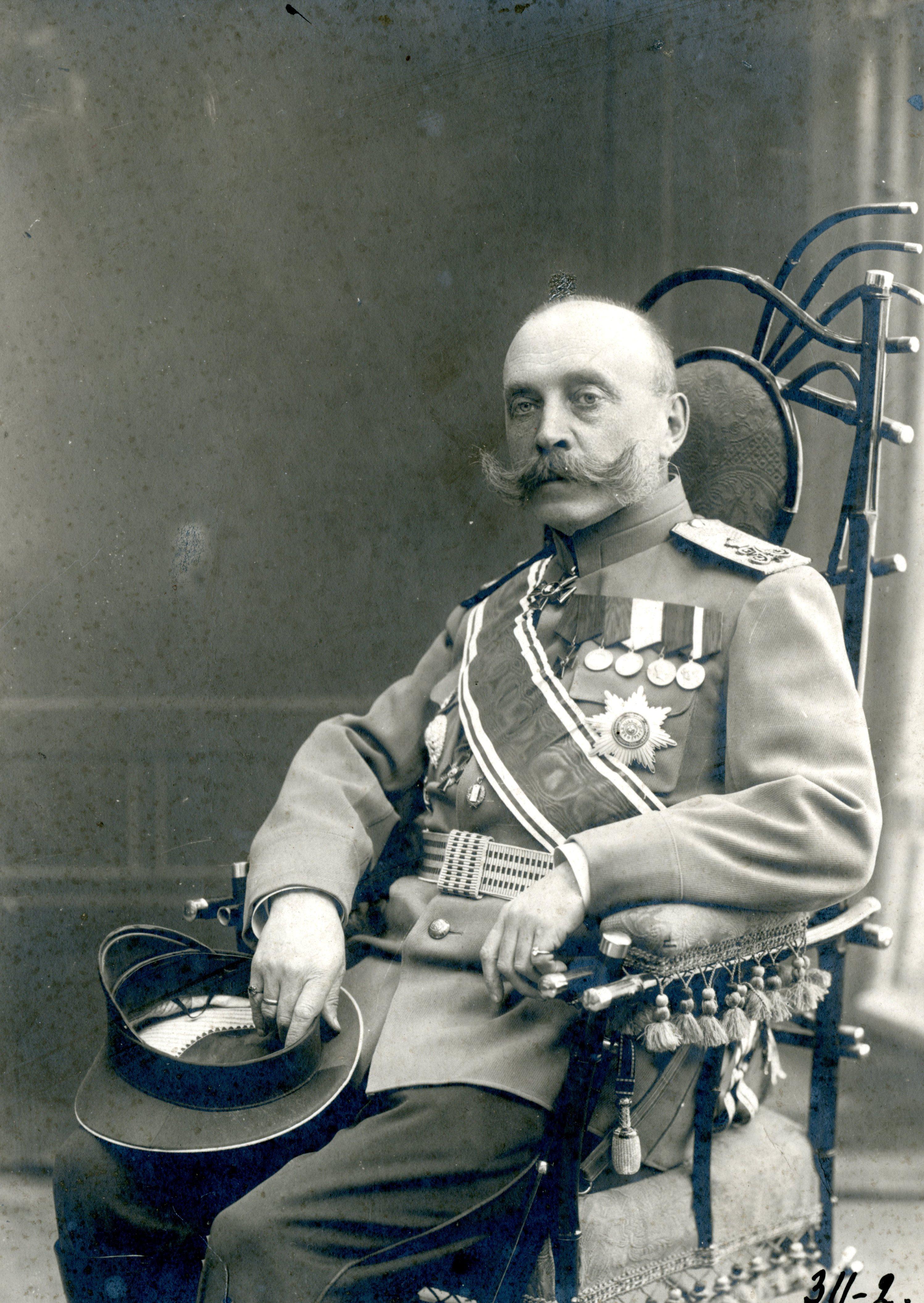 Генерал-лейтенант Александр Ардалионович Медведев