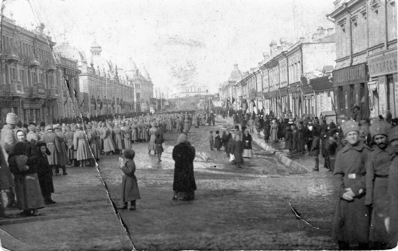 В дни февральской революции