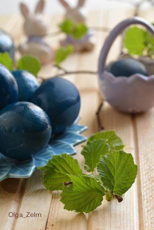 Яйца royal blue